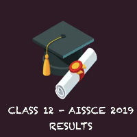 CLASS XII RESULTS – 2019