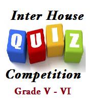 Inter House Quiz Competition – Grade V-VI