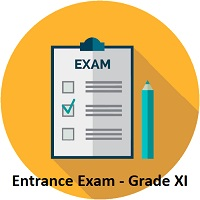 ENTRANCE EXAM CLASS XI 2021-2022