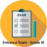 ENTRANCE EXAM CLASS XI 2021-2022