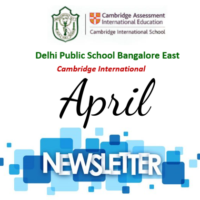 Newsletter – April 2021