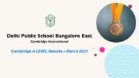 Cambridge A LEVEL Results – March 2021
