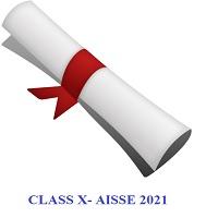 Grade X – AISSE 2021