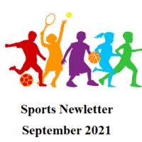 Sports Newsletter – September 2021
